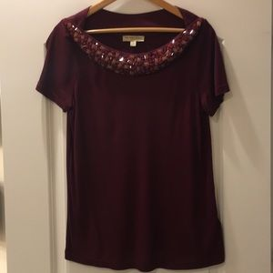 Burberry T-shirt with Beads